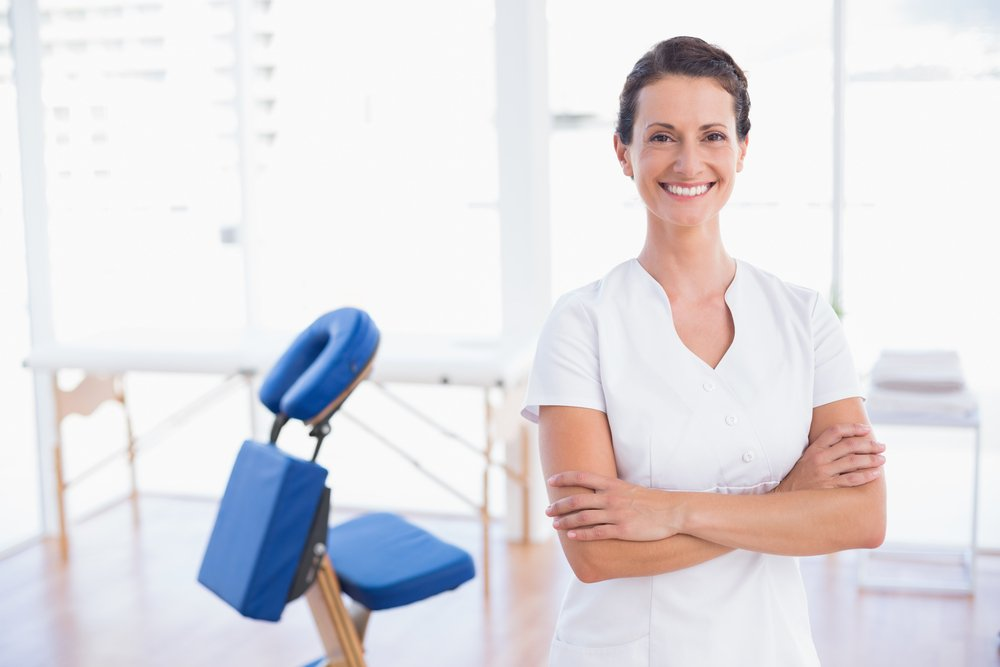 The chair massage program is a great way to reward your employees.